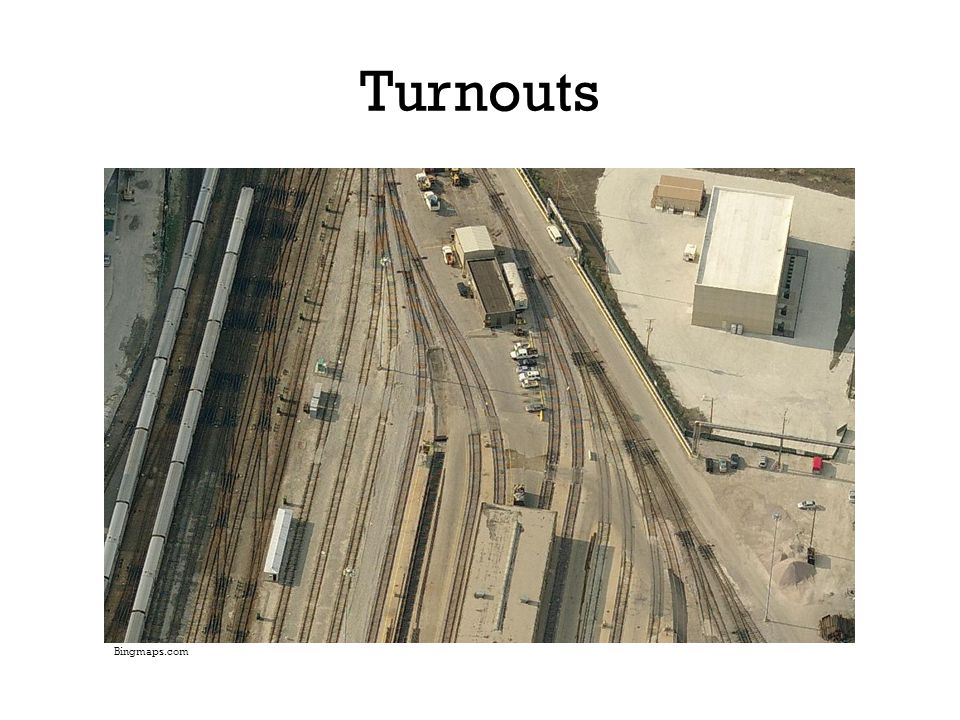 Turnouts Yard on south end of Chicago Loop