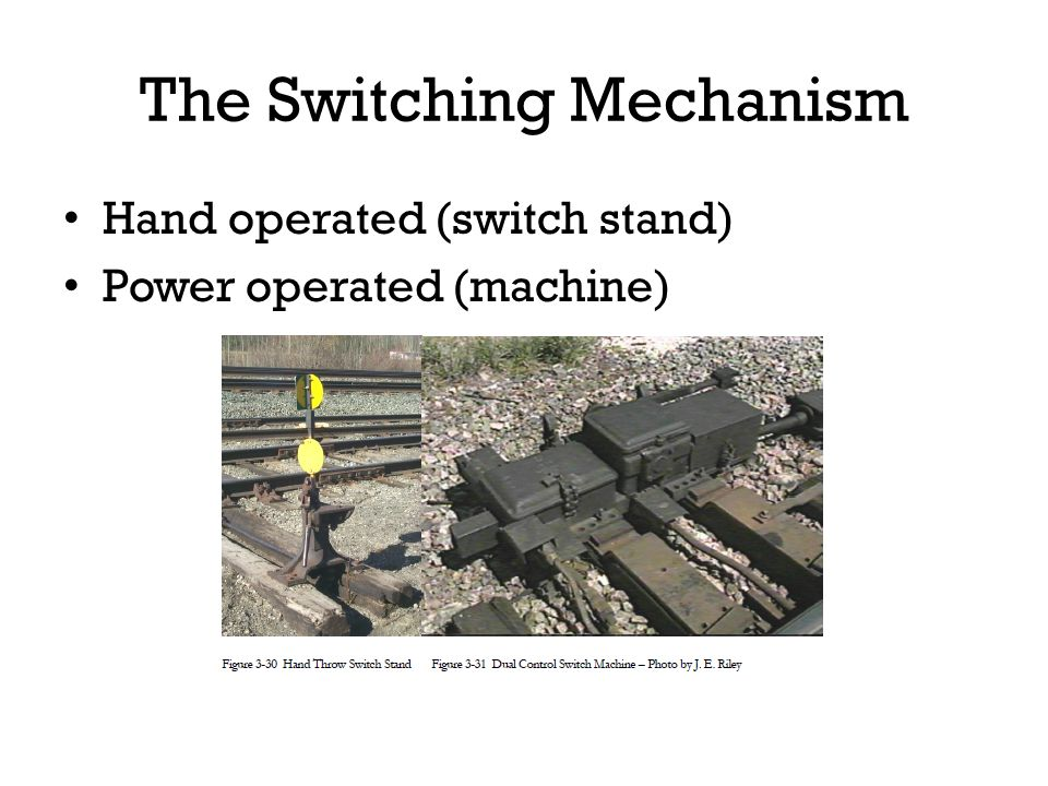 The Switching Mechanism