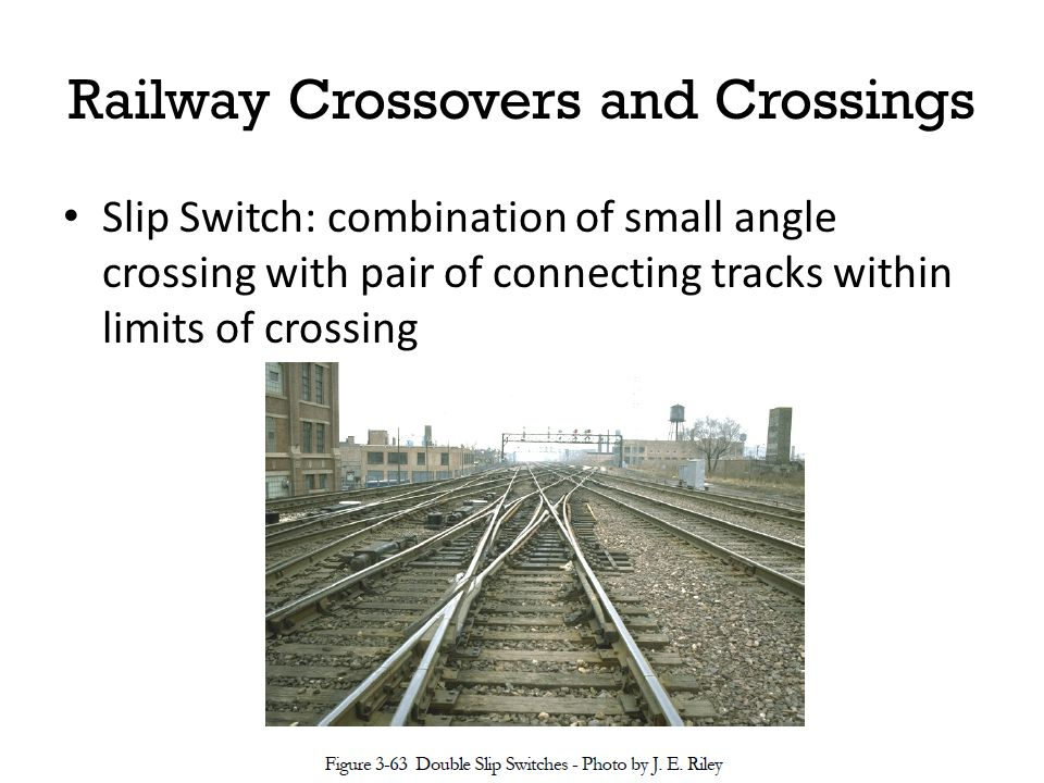 Railway Crossovers and Crossings