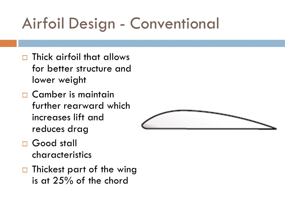 Airfoil Design - Conventional