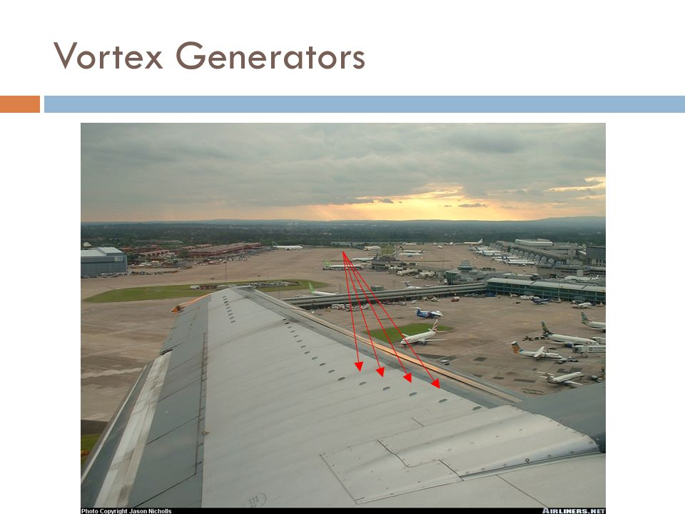 Vortex Generators
