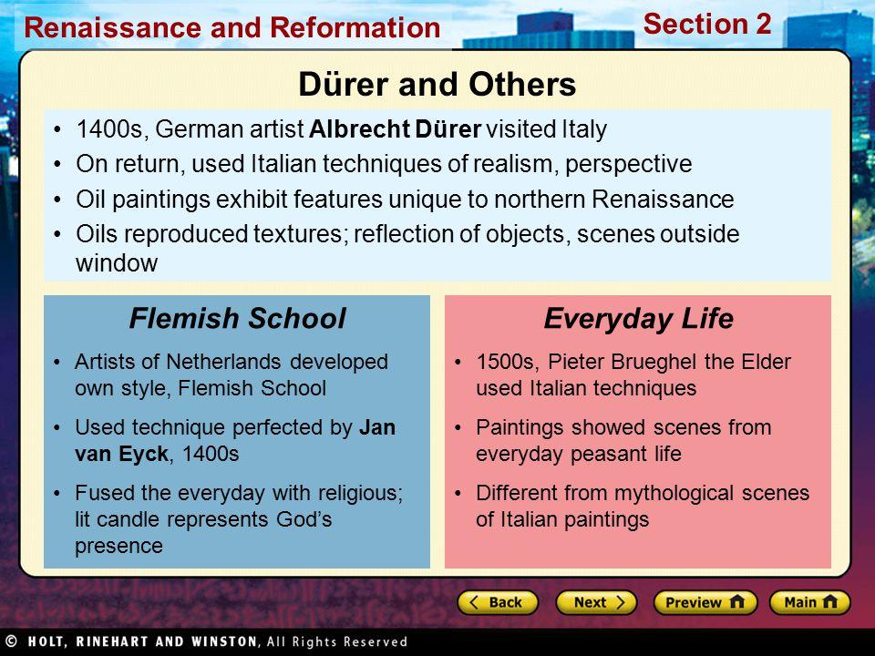 Dürer and Others Flemish School Everyday Life