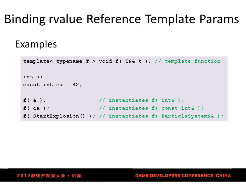 Binding rvalue Reference Template Params