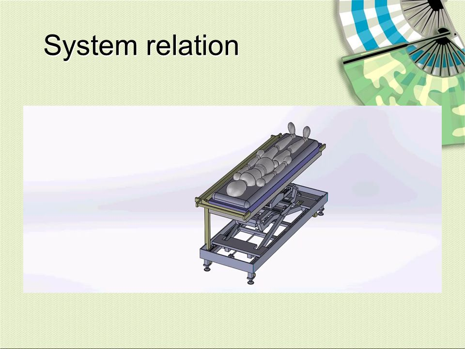 System relation Vertical Beam Line Treatment Head Stable