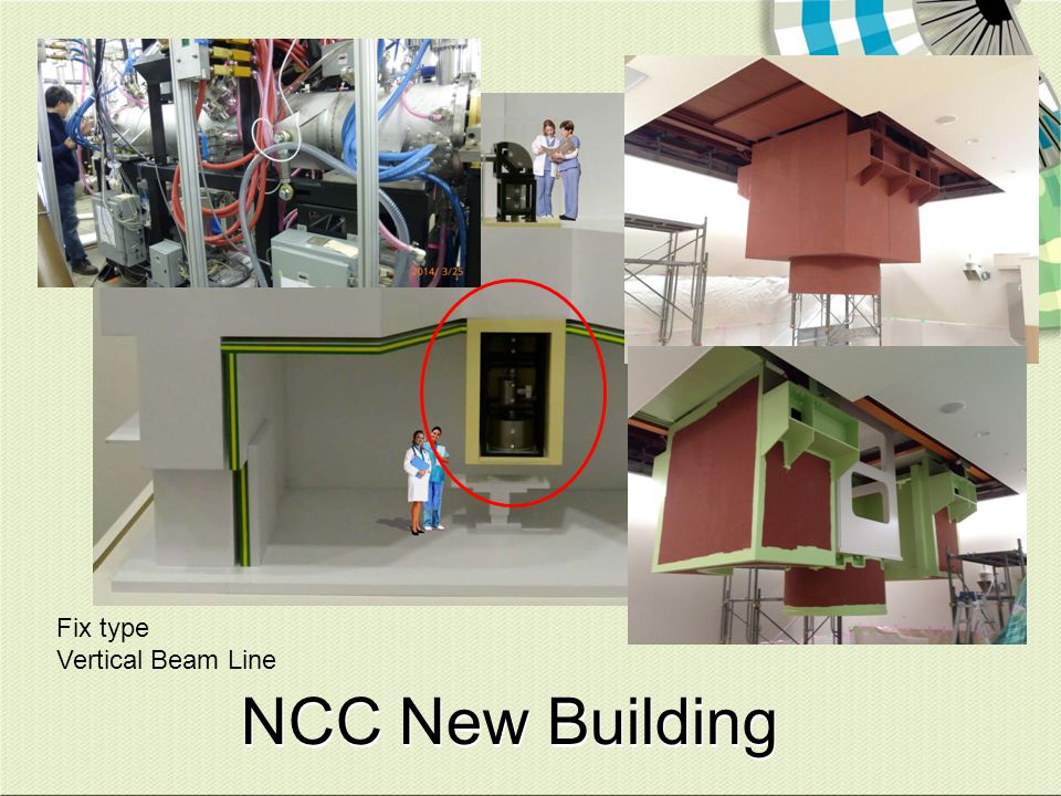 NCC New Building Fix type Vertical Beam Line You can see