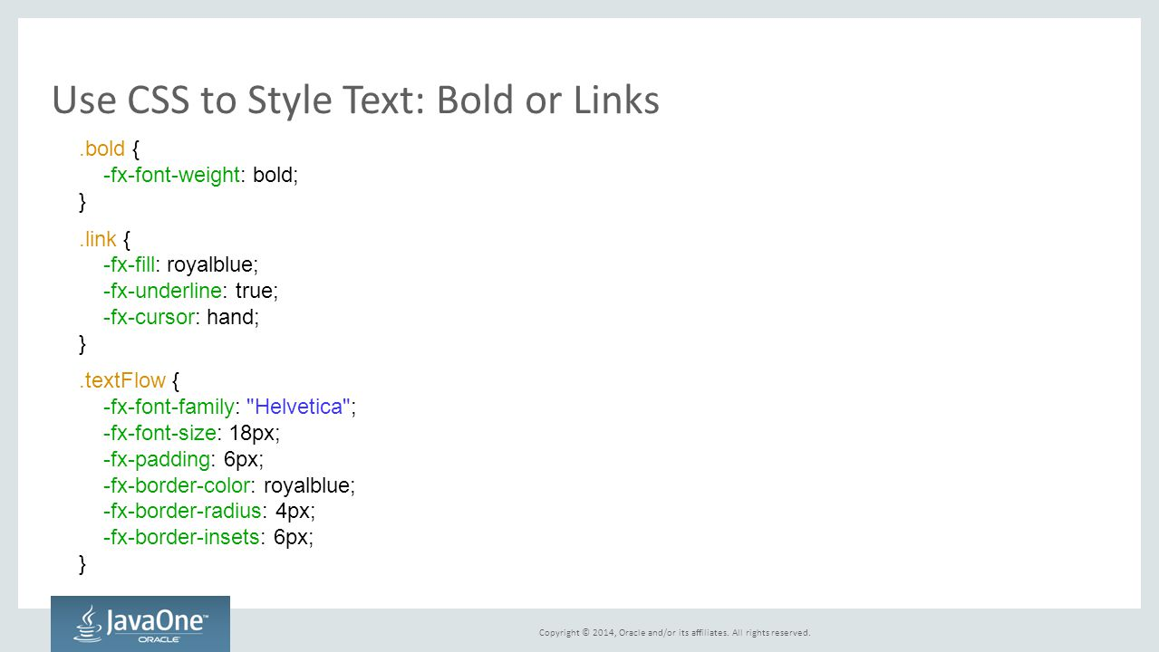 Use CSS to Style Text: Bold or Links
