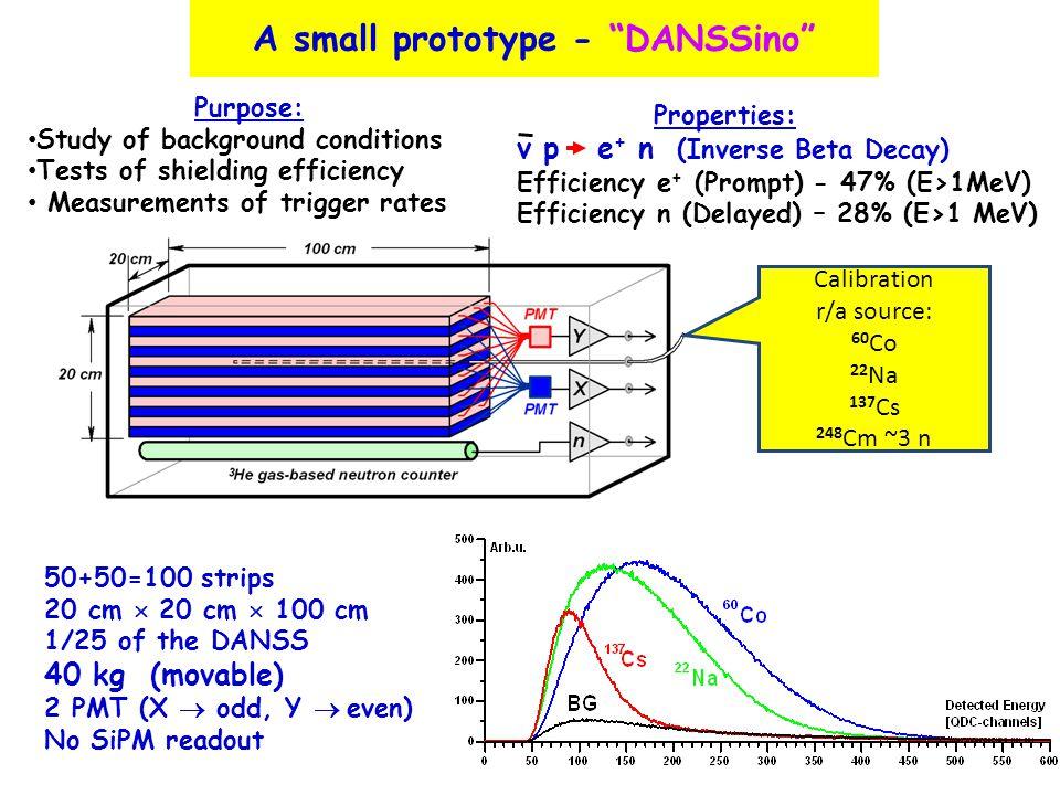 A small prototype - DANSSino