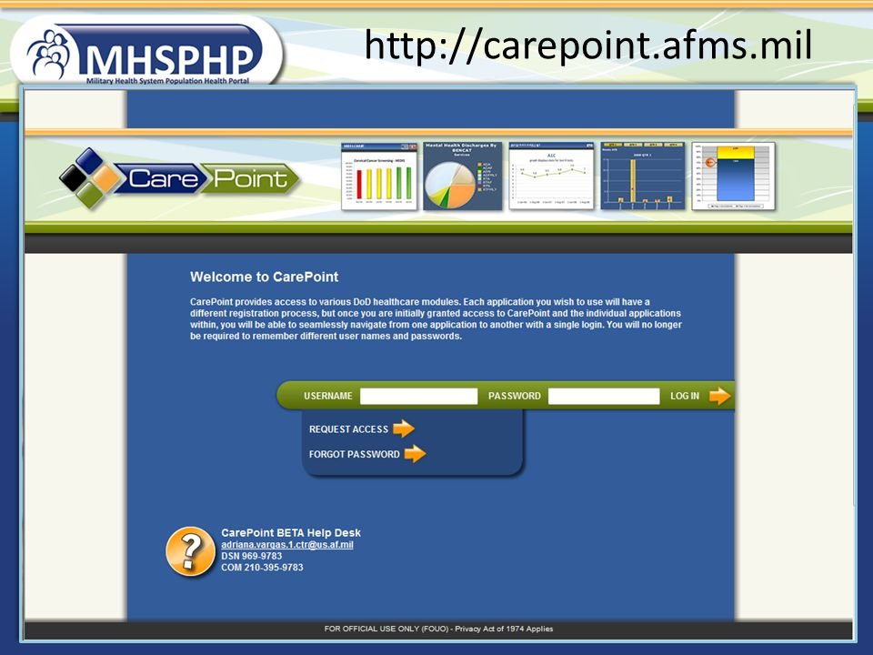 http://carepoint.afms.mil