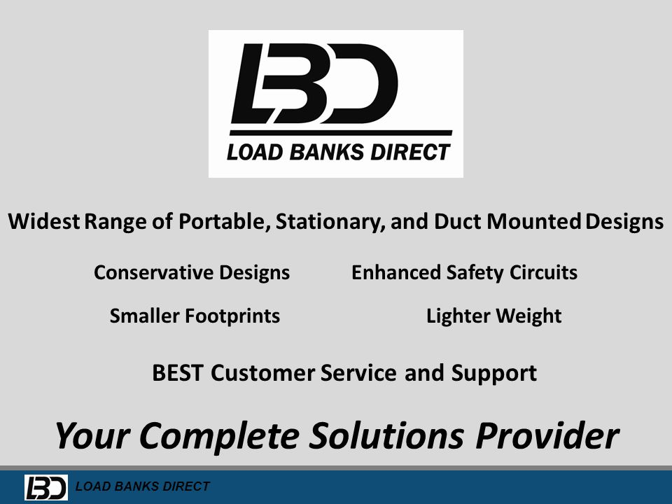 Your Complete Solutions Provider