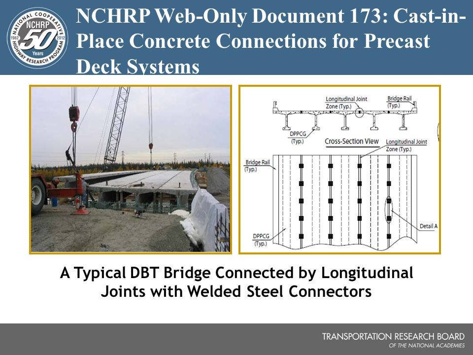 Cast In Place Joint : Outline fhwa aashto nchrp international and domestic scan