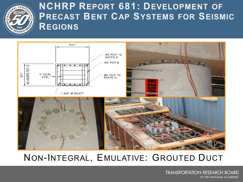 Non-Integral, Emulative: Grouted Duct