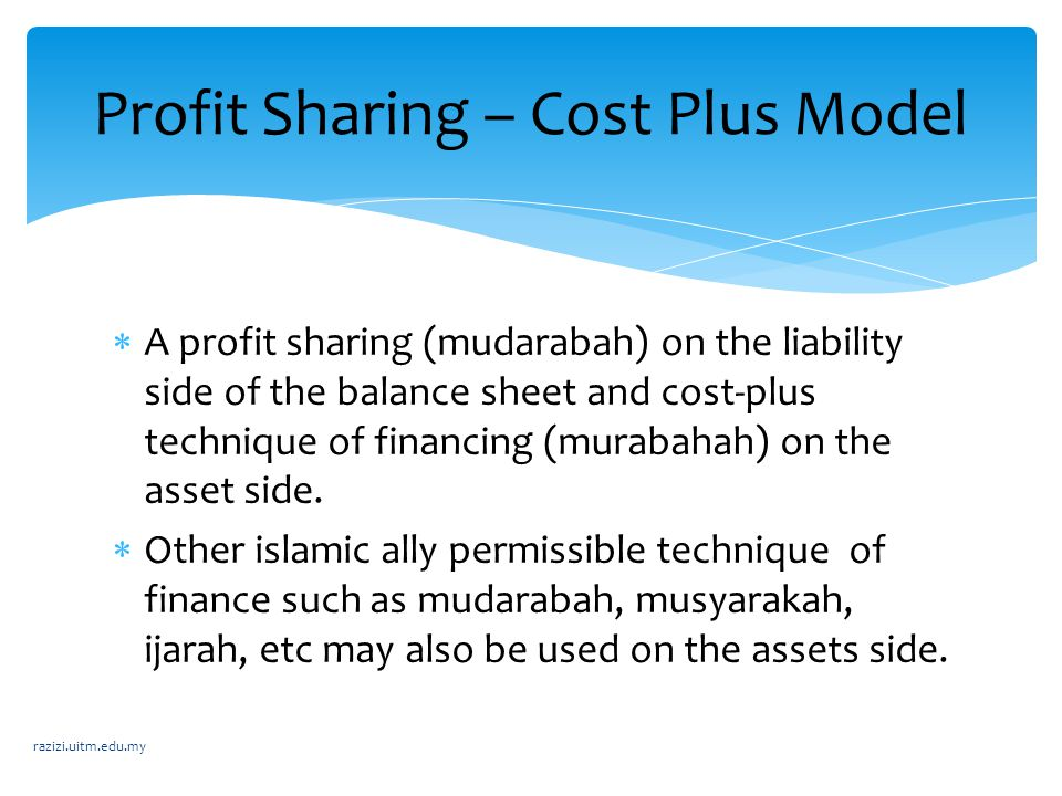 Profit Sharing – Cost Plus Model