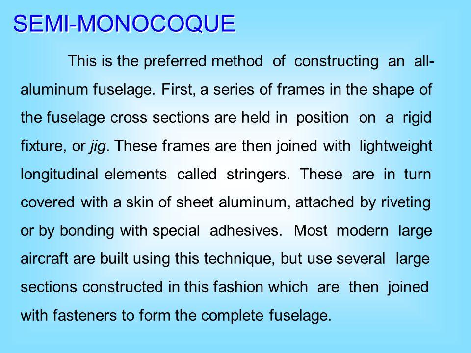 SEMI-MONOCOQUE