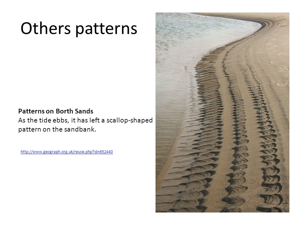 Others patterns Patterns on Borth Sands