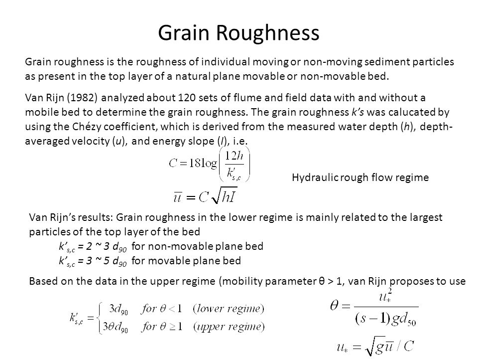 Grain Roughness