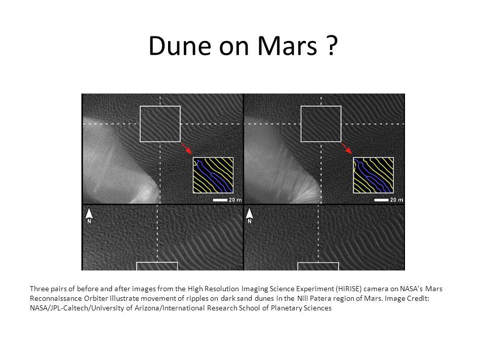 Dune on Mars