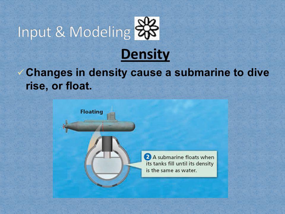 Input & Modeling Density