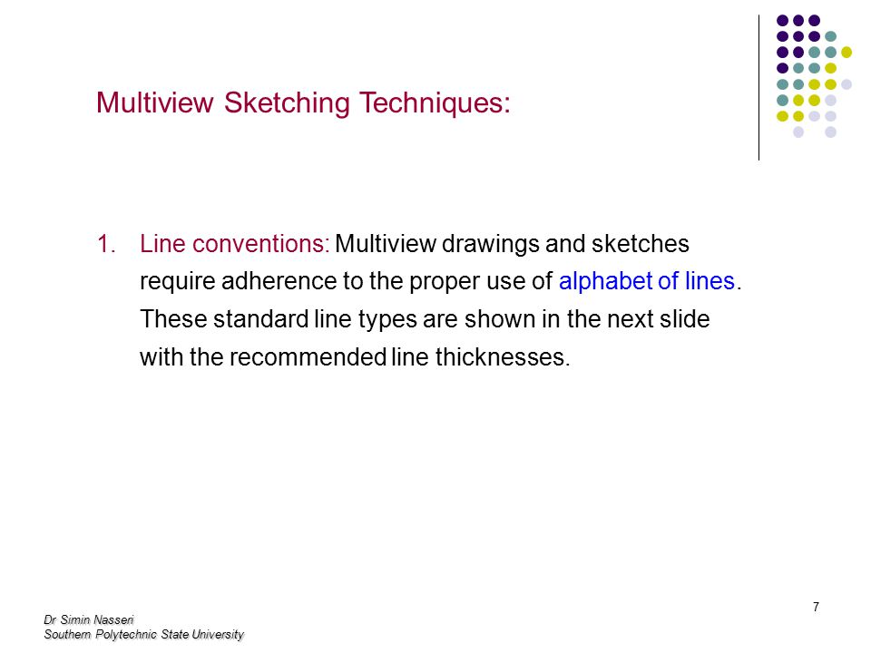 Multiview Sketching Techniques: