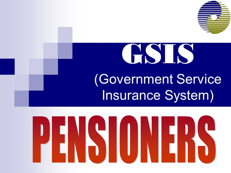 GSIS (Government Service Insurance System)
