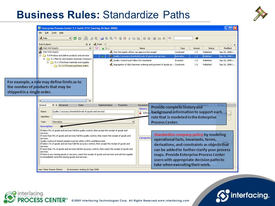 Business Rules: Standardize Paths