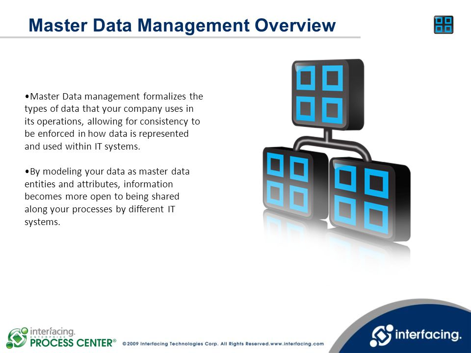 Master Data Management Overview