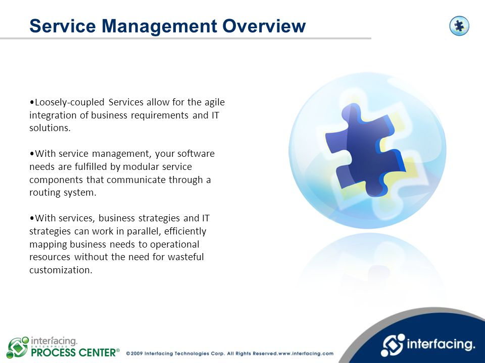 Service Management Overview