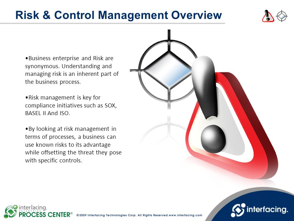 Risk & Control Management Overview