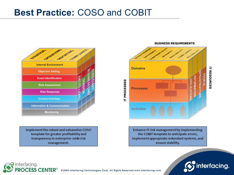 Best Practice: COSO and COBIT