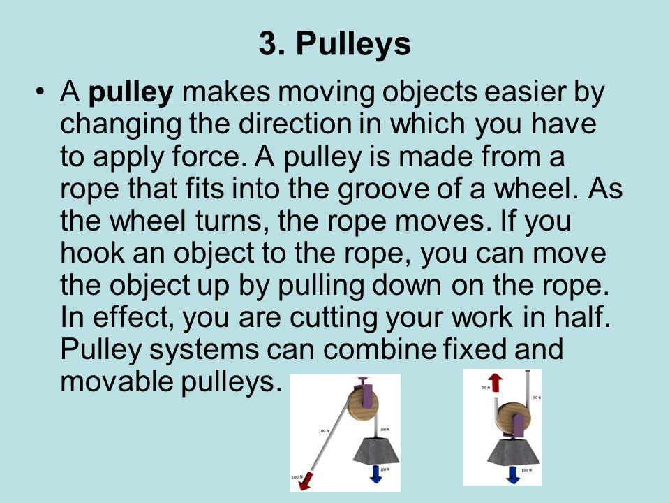 3. Pulleys