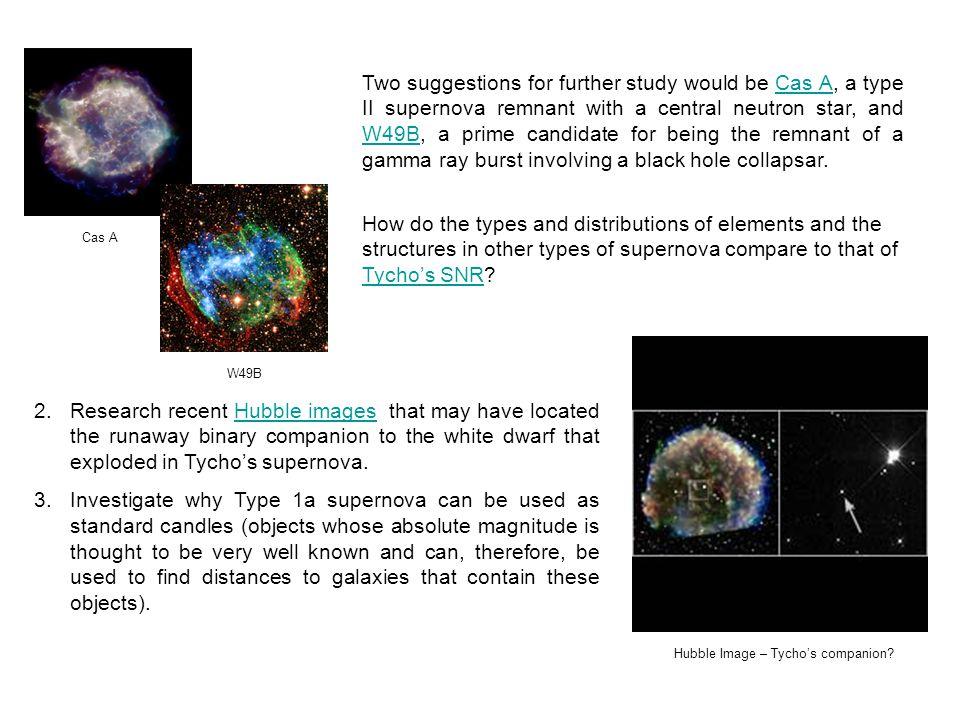 Hubble Image – Tycho's companion