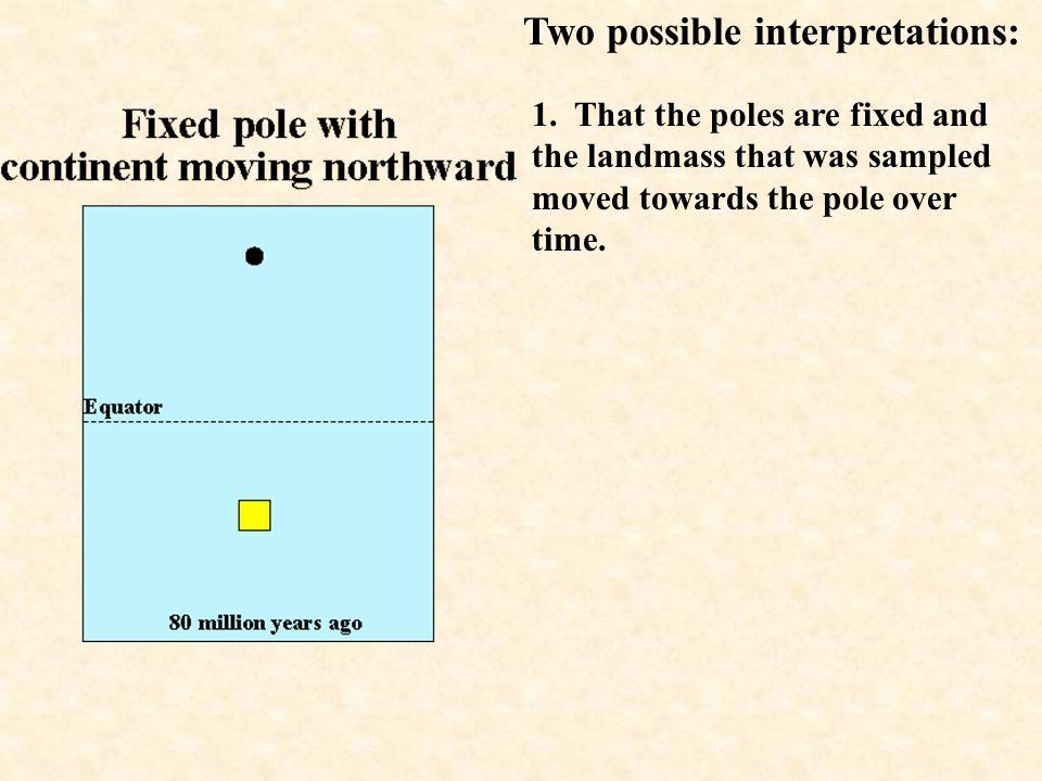 Two possible interpretations: