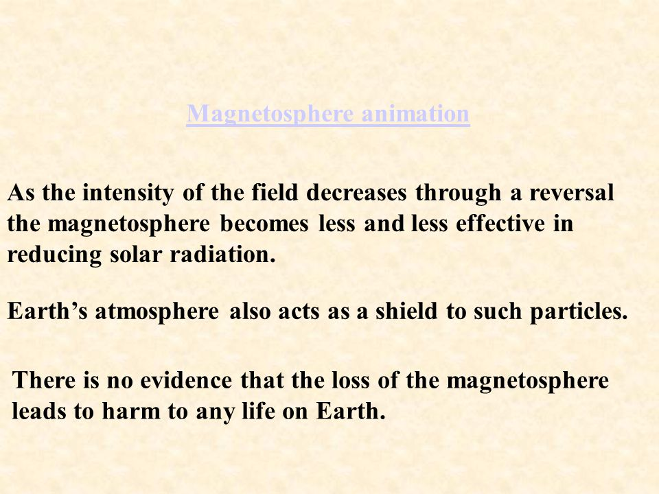 Magnetosphere animation