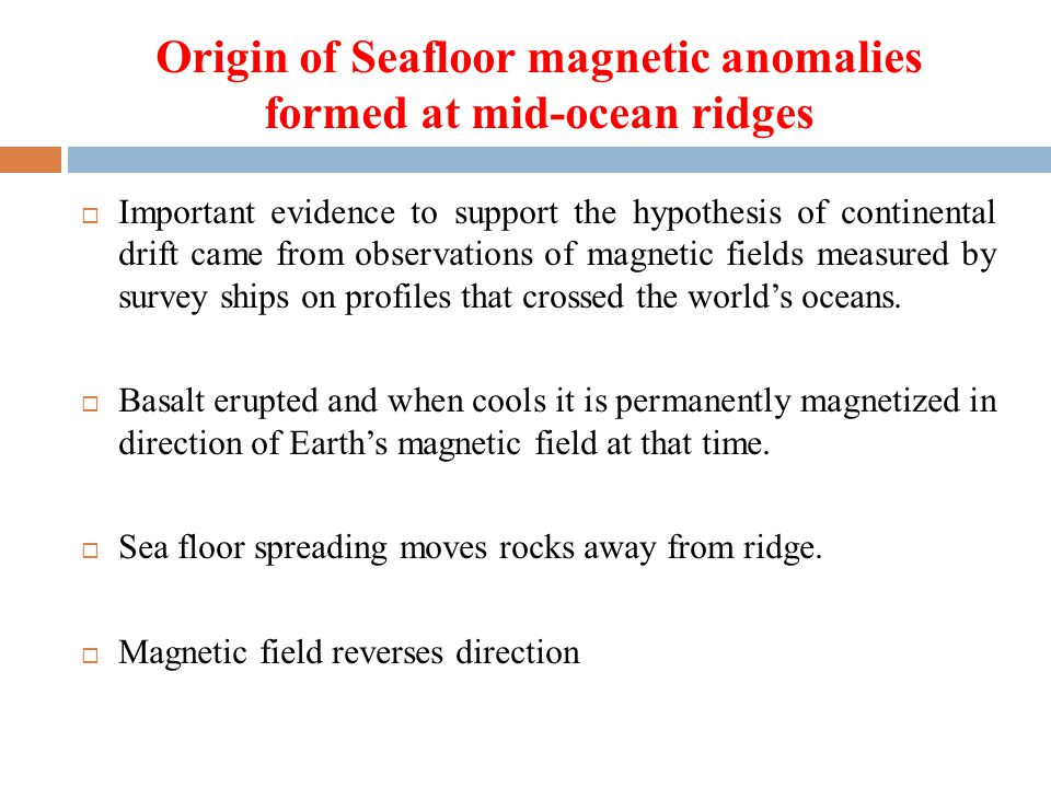 Origin of Seafloor magnetic anomalies formed at mid-ocean ridges