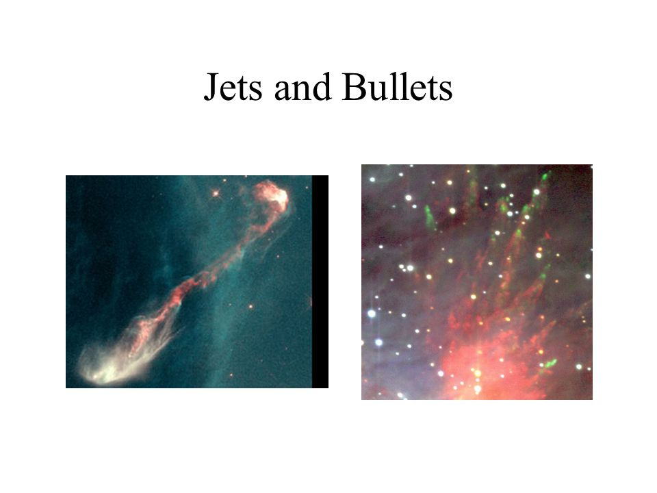 Jets and Bullets