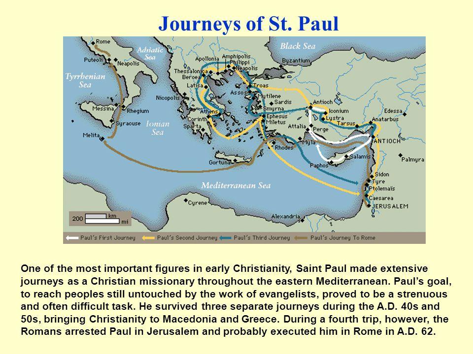 Journeys of St. Paul