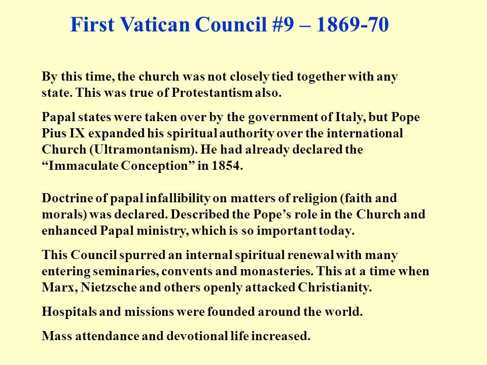 First Vatican Council #9 – 1869-70
