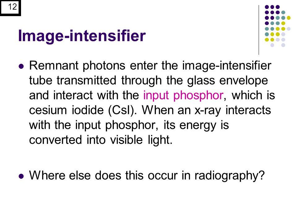 Image-intensifier