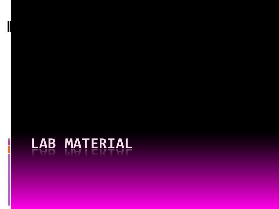Lab Material