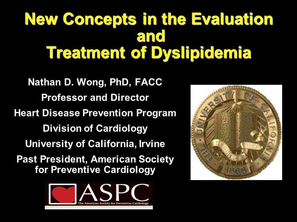 New Concepts in the Evaluation and Treatment of Dyslipidemia