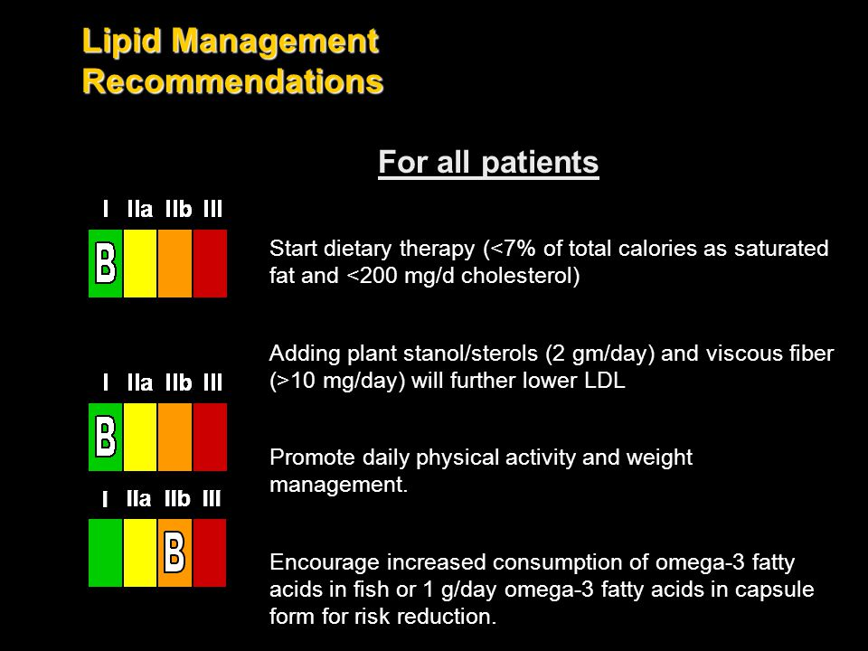 Lipid Management Recommendations