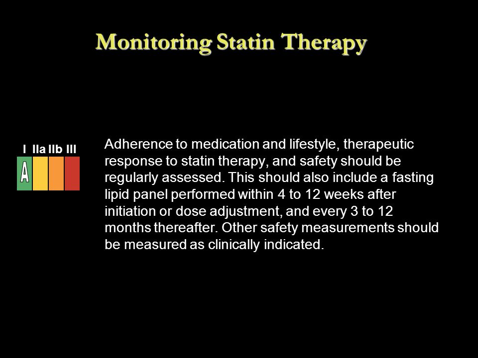 Monitoring Statin Therapy