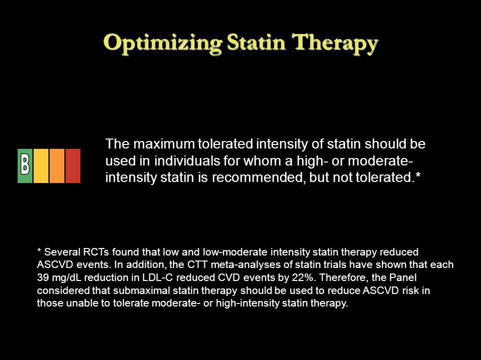 Optimizing Statin Therapy