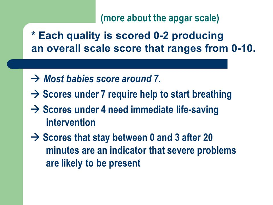 (more about the apgar scale)
