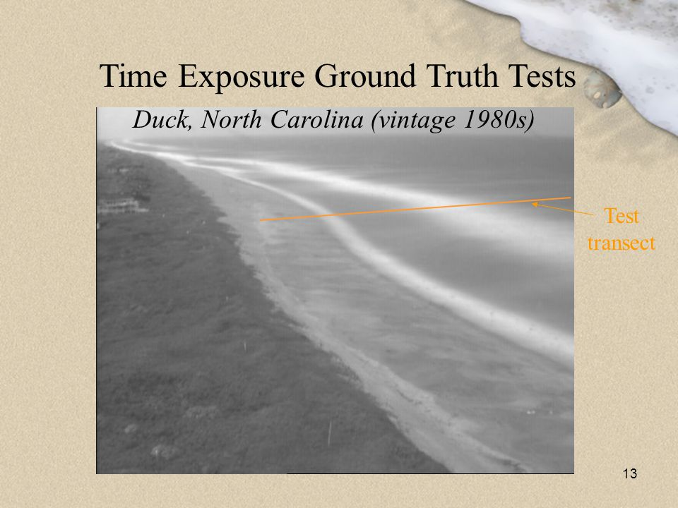 Time Exposure Ground Truth Tests