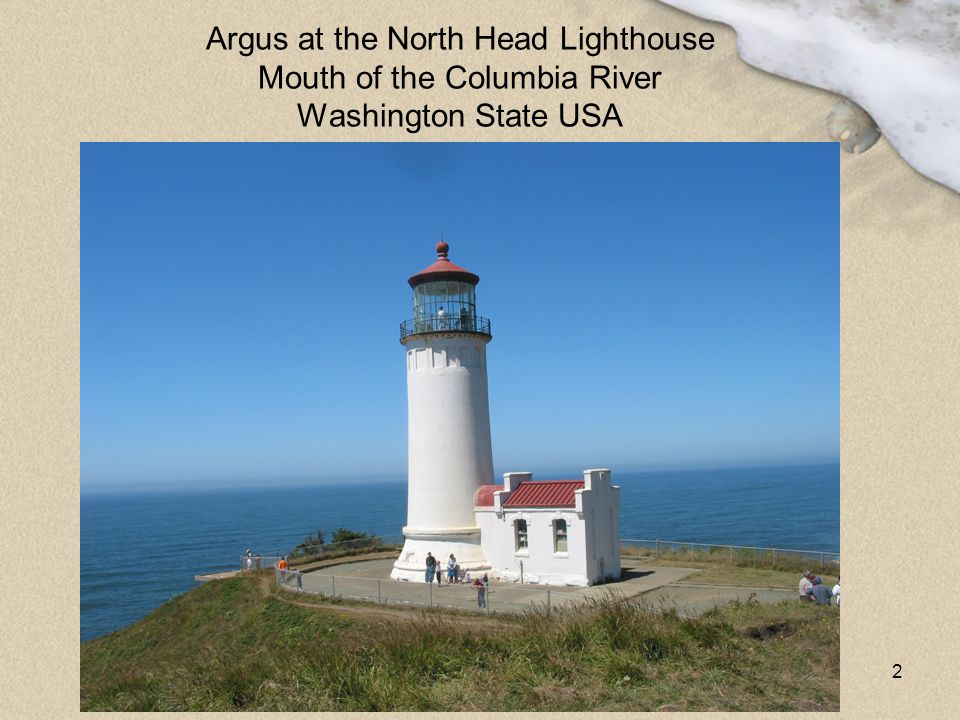 Argus at the North Head Lighthouse Mouth of the Columbia River Washington State USA