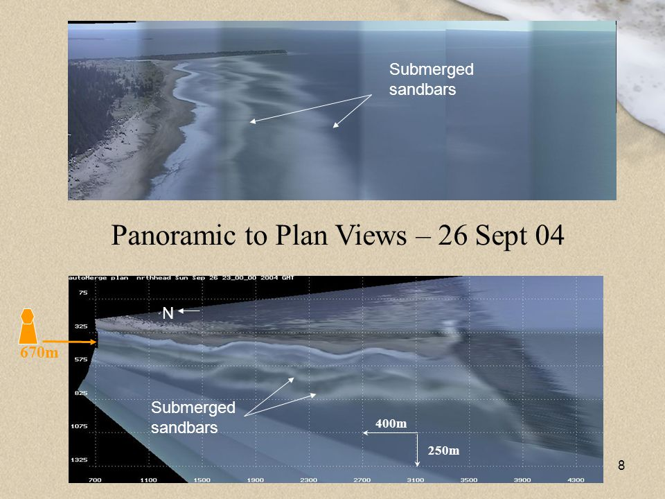 Panoramic to Plan Views – 26 Sept 04