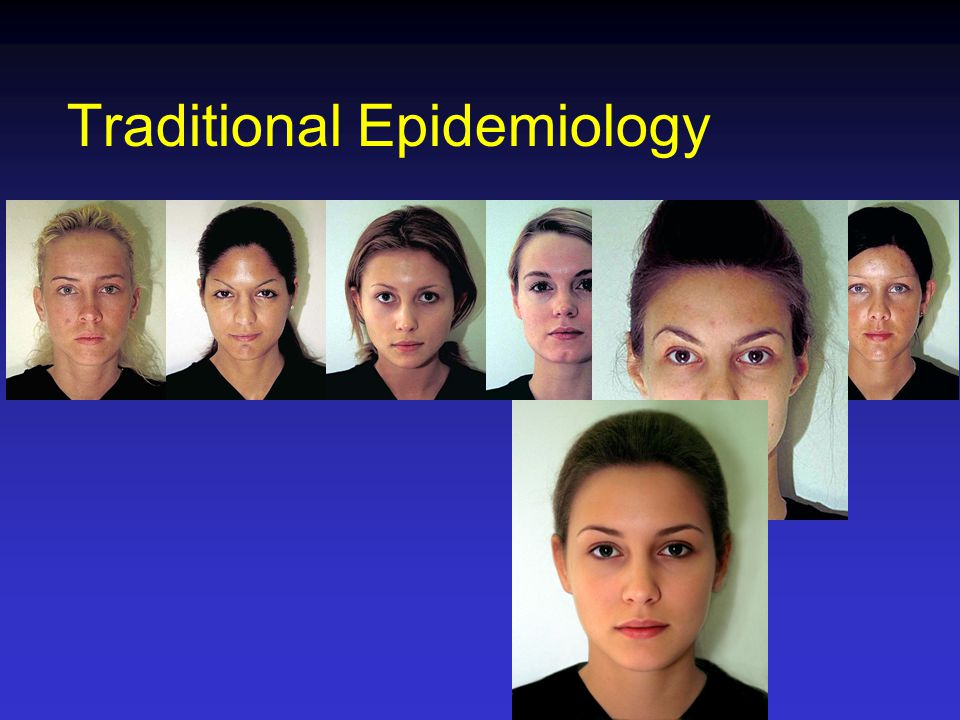 Traditional Epidemiology