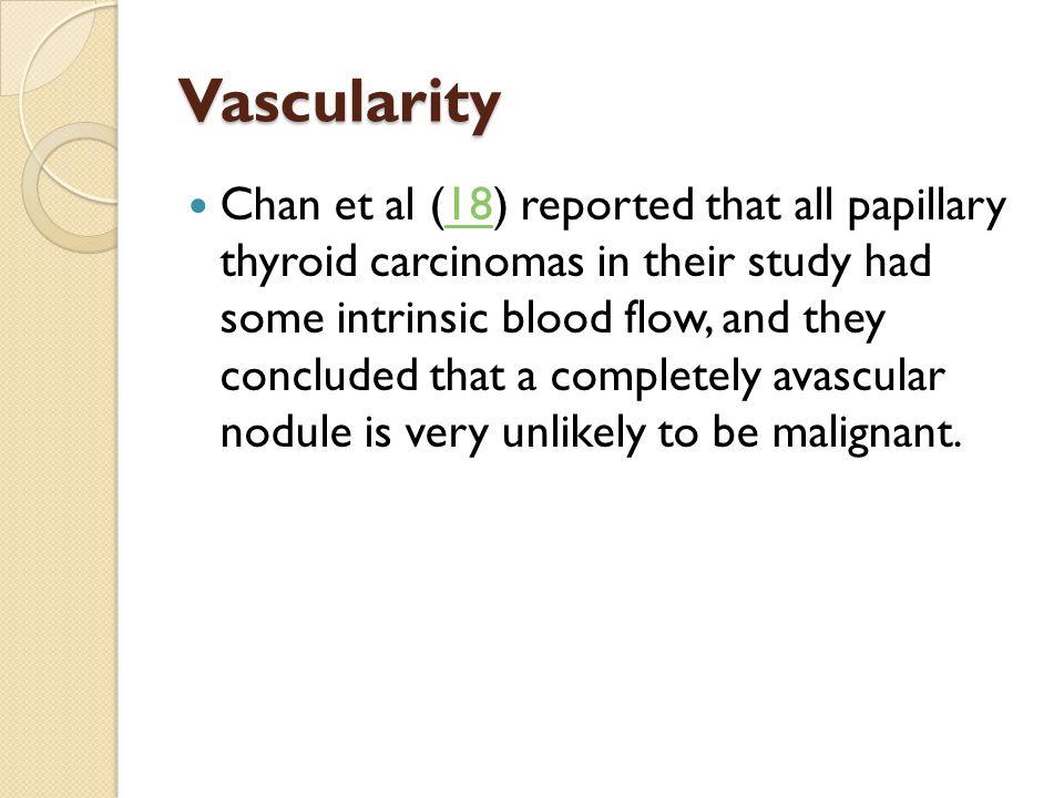 Vascularity