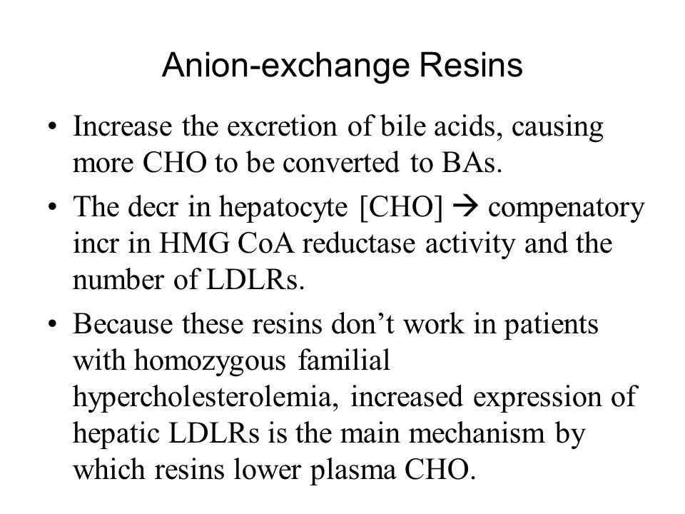 Anion-exchange Resins