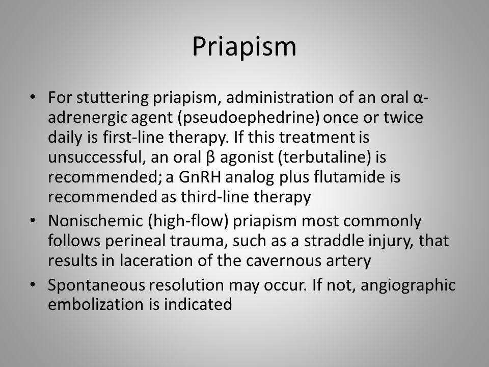 Priapism